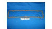 Прокладка крышки клапанной Газель,Волга,УАЗ дв 402 (резино-пробк) (черная)  (производство БРТ)