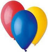 Воздушные шары разноцветные