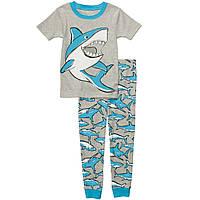 Хлопковая пижама Carters Акула