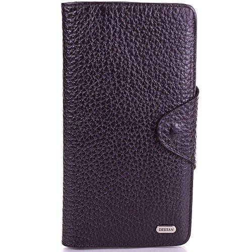 Мужской очаровательный кожаный кошелек DESISAN (ДЕСИСАН), SHI225-2FL