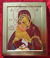 Почаевская икона Божьей Матери писаная