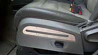 Dodge Nitro хром накладки на сиденья из нержавеющей стали