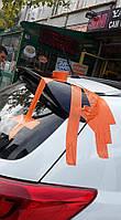 Kia Sportage 2010-2015 Спойлер под покраску