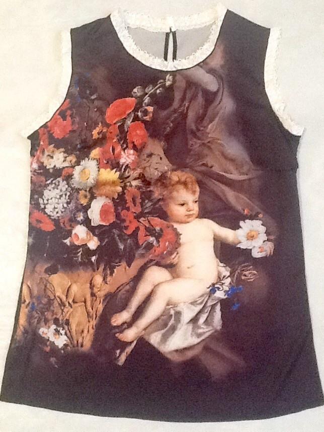 Блуза женская Dolce&Gabbana шелковая