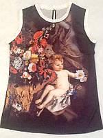 Блуза женская Dolce&Gabbana шелковая, фото 1