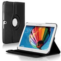 Вращающийся черный чехол для Samsung Galaxy Tab 3 10.1 p5200, фото 1