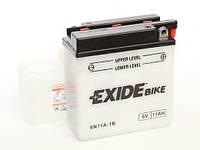 Аккумулятор 11Ah-6v Exide (6N11A-1B) (121х59х131) R, EN95 (производство EXIDE ), код запчасти: 6N11A-1B