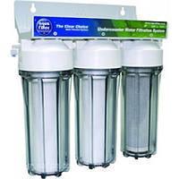 Фильтр под кухонную мойку Aquafilter 3-х ступенчатый с картриджами