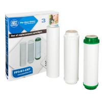 Комплект картриджей Aquafilter FP3-K1-CRT для фильтров под мойку