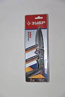 """Нож ЗУБР """"ЭКСПЕРТ"""" КЛЫК складной, металлическая эргономичная рукоятка, 200мм/лезвие 85 мм"""