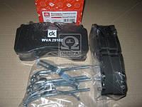 Колодка тормозная дисковая (компл. на ось) SAF  (производство Дорожная карта ), код запчасти: DK 29162PRO