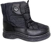 Полусапоги женские дутики, сноубутсы, застёжка липучка (обувь зимняя, опт, дёшево)опт203всу