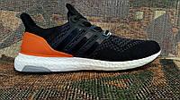 Кроссовки мужские Adidas ULTRA BOOST black\orange