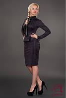 Женский приталенный деловой костюм