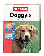 Витамины Beaphar Doggy's Liver (Беафар Доггис Ливер) 75 шт