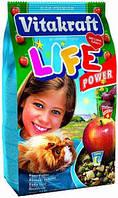 Корм для морских свинок Vitakraft  LIFE Power Apple (Витакрафт лайф поуэр) 600 гр
