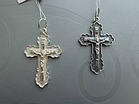 Серебряный крест, арт Кр 01, фото 1