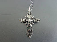 Серебряный крест 03, фото 1
