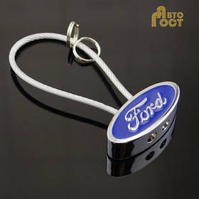 Брелок для ключей с логотипом Ford в коробке