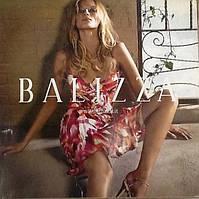 Платье ночнушка женское летнее Balizza шелк цветное нарядное вечернее модное яркое с бретелями в стразах