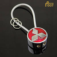 Брелок для ключей с логотипом Mitsubishi