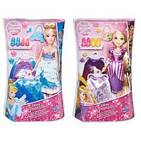 1шт Модная кукла Принцесса в платье со сменными юбками (Золушка, Рапунцель) Дисней Disney Hasbro