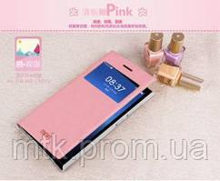 Чехол-книжка Mofi для телефона Xiaomi Mi3 розовый pink