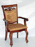"Кресло Classic 8001        ""ножки 8019, обивка P"" /  Стул обеденный DM-8001, видео"