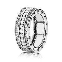 Серебряное кольцо «Всегда с Pandora» с кубическим цирконием, 190962CZ
