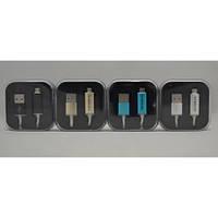Кабель micro USB LED (светится логотип)