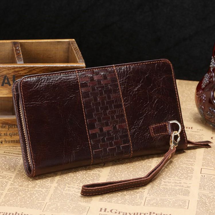 d171e6085d5a Кожаный клатч John McDee 8028C – купить в интернет-магазине ...