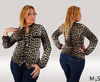 Блузка леопардовая БАТ 676 (2003)