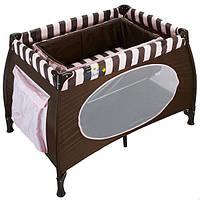 Манеж-кровать WonderKids Honeybee (шоколадный)