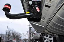 Быстросъемный фаркоп Audi Q7 на ключе (Ауди Ку7), фото 3