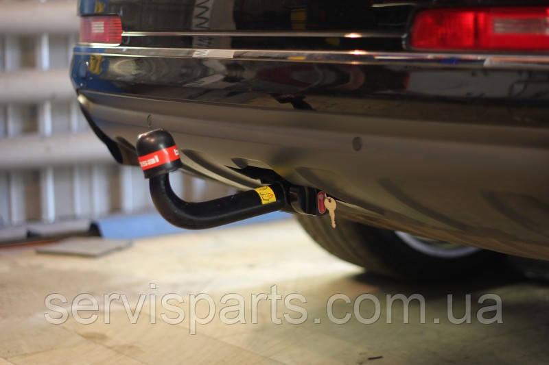 Быстросъемный фаркоп Audi Q7 на ключе (Ауди Ку7)