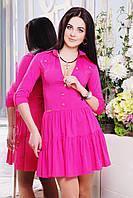 Яркое женское платье IR Фэшн  цвета: бирюза   малина   голубой   коралл