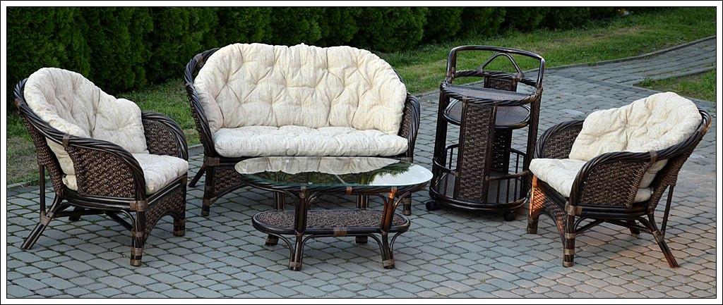 Королевская мебель из натурального ротанга