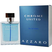 Azzaro Chrome United edt 100ml. m оригинал