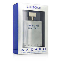 Azzaro Chrome United edt 100ml. m Collector Edition оригинал