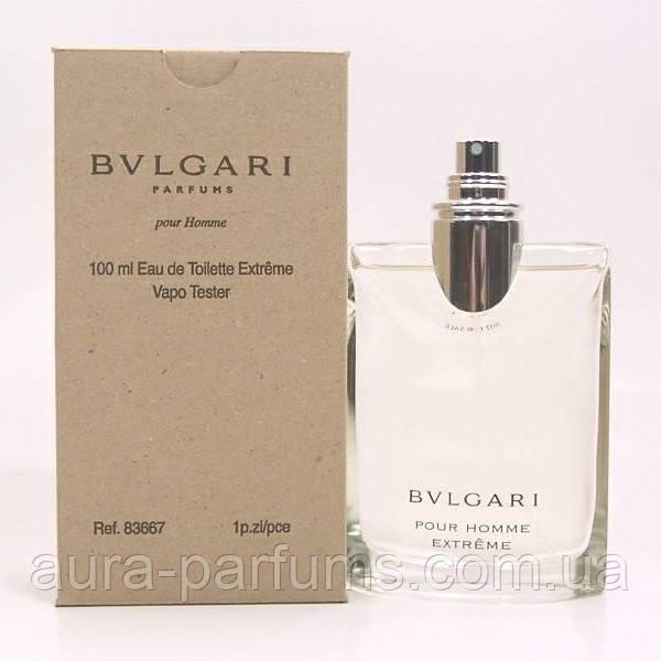 Bvlgari Pour Homme Extreme Edt 100 Ml M оригинал тестер продажа