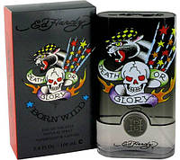 Christian Audigier Ed Hardy Born Wild For Him  edt 50  ml. m оригинал