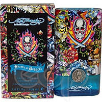Christian Audigier Ed Hardy Hearts & Daggers For Him  edt 100  ml. m оригинал Тестер