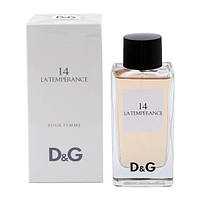 Dolce & Gabbana D&G Anthology La Temperance 14  edt 100  ml. w оригинал Тестер