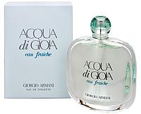 Giorgio Armani Acqua Di Gioia Eau Fraiche  edt 100  ml. w оригинал