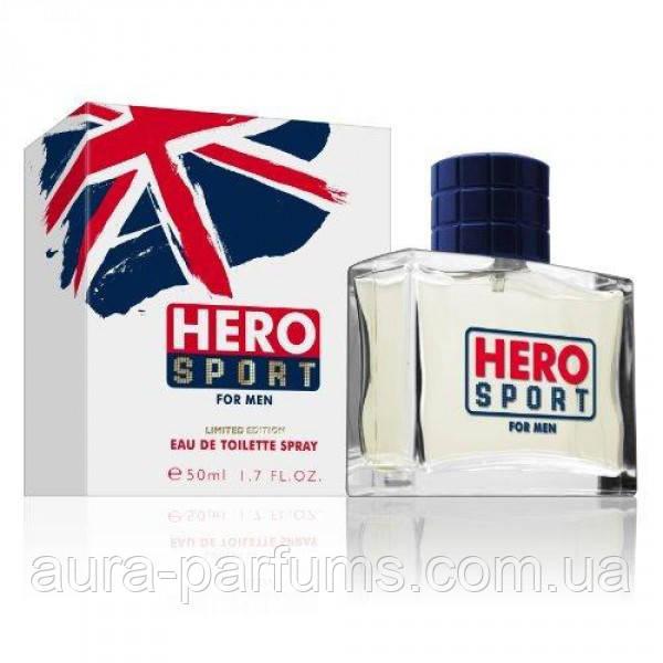 Hero Sport For men  edt 50  ml. m оригинал