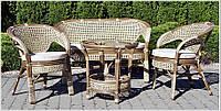 Садовая мебель из ротанга для терассы