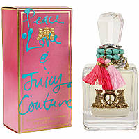 Juicy Couture Peace, Love and Juicy Couture  edp 100  ml. w оригинал