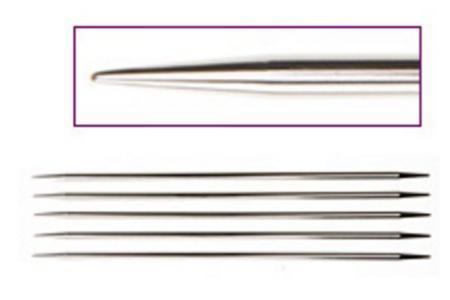 Спицы носочные 15 см Nova Metal KnitPro  4,00 мм