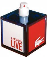 Lacoste Live  edt 100  ml. m оригинал Тестер