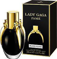 Lady Gaga Fame Black Fluid  edp 30  ml. w оригинал